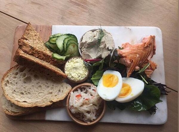 ON THE MENU: Seafood platter with Hederman's smoked fish, hot smoked salmon and mackerel pate