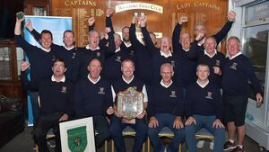 Charleville golfers captured the Pierce Purcell Shield after thrilling finale