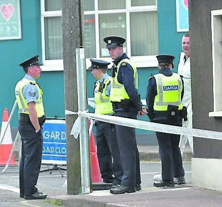 Gardaí conducting door-to-door enquiries on the Bandon Road in Cork city where Paul Jones' body was discovered.