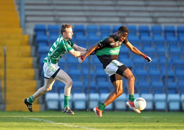 Ogbene in action at U21 level for Nemo Rangers. Picture: Jim Coughlan