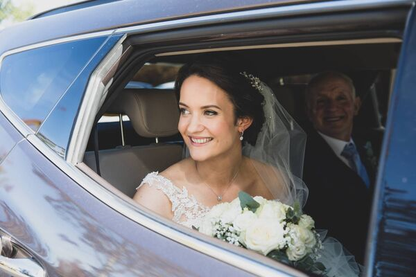 Yvonne Twomey on her wedding day. Pictures: Laura and Benny Photography.