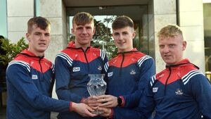 Rebel Óg awards: Minor footballers are honoured for their major win