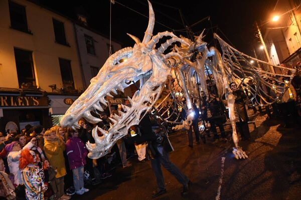 Last year's 'Dragon of Shandon' Parade. Picture: Larry Cummins.
