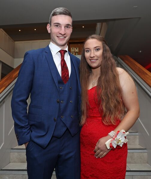 Cian Ahern and Ellie Aneiros.