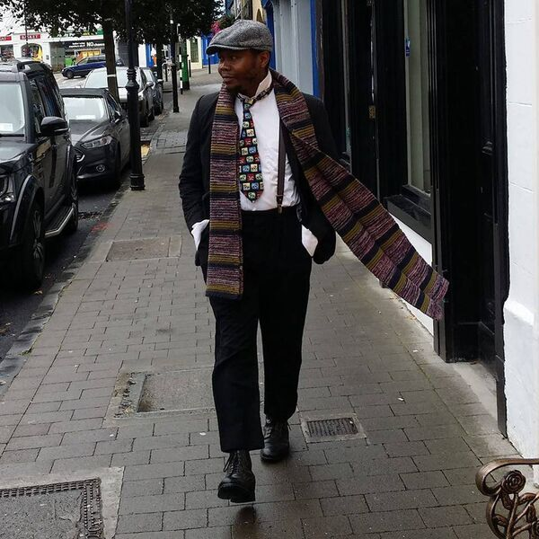 MAN ABOUT TOWN: Bam Artiste Artiste, who travels from Galway to Cork three or four times a week.