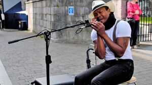 People of Cork take Paul Street busker to their hearts