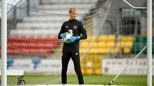 Caoimhín Kelleher could start in goal for Liverpool against MK Dons