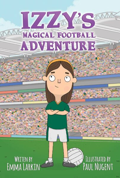 BOOK: Emma Larkin wrote a book called Izzy's Magical Football, inspired by her granny, the legendary Maureen Hennebry (nee Cashman), Blackrock, who won three in a row All-Ireland titles from 1939 to 1941.