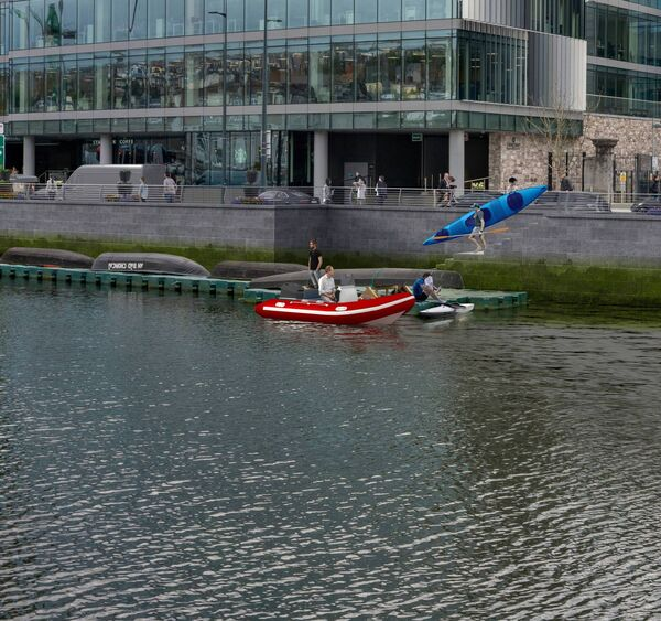 New access point for river users at Albert Quay West