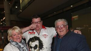 Cork darts ace returns to hero's welcome in the Rebel County