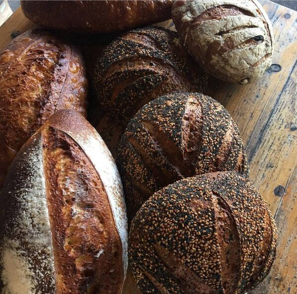 Beautiful breads from Diva Boutique Bakery, Cafe and Deli.