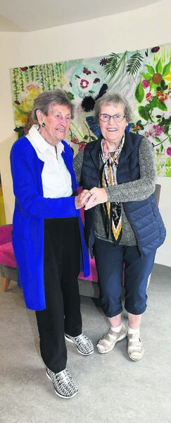 Lifelong pals Phil Cronin and Lou Hands, who have known each other from junior infants class, aged 5, at North Presentation Primary School and are now reunited in friendship aged 91 years.
