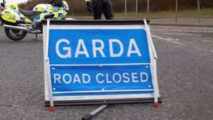 Cork-Macroom road closed because of car accident