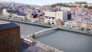 Cork's newest bridge to be lifted into place next month