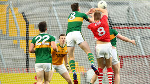 The Cork footballers went at Kerry with a spiky purpose to make it a war