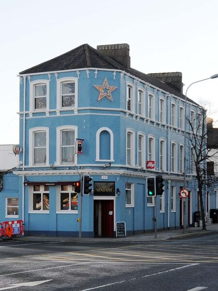 The former Sextant bar at Albert Quay