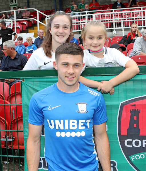 Adam O'Reilly with his sisters, Sophie and Lucy O'Reilly. Picture: Jim Coughlan.