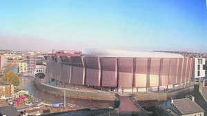 Bam modify their events centre plans following concerns from City Hall planners