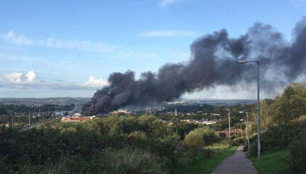 The Douglas multistorey carpark fire could be seen from across the city.