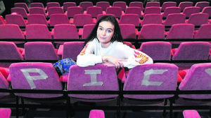 Glanmire teen treads boards of the Abbey