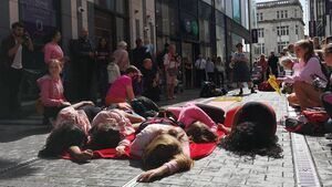 'Dying' for the latest trend: fast fashion protests hit Cork
