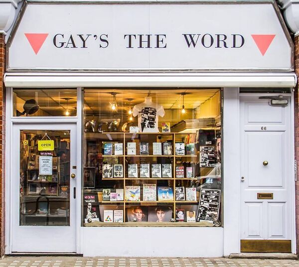 Gay's the Word bookshop in Bloomsbury, London,