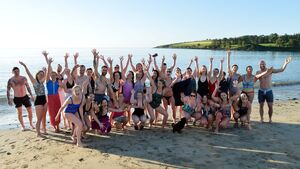 Were you among the brave Cork souls taking a dip in the sea at 6.30am?
