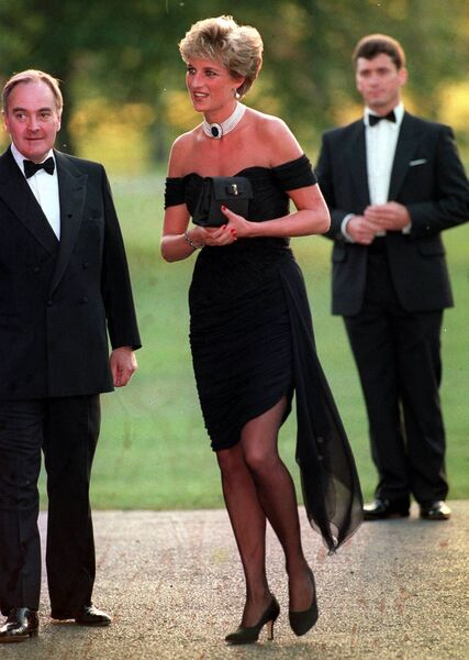 Princess Diana became a style icon
