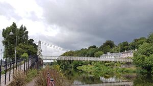 The Shakey Bridge is to close for nine months with repair work to get underway on Monday