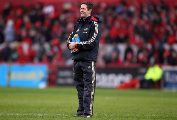 Aidan O'Connell on duty with Munster. Picture: INPHO/Dan Sheridan