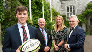 UCC rugby rising star James Taylor is the first Moss Keane scholar