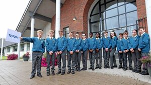Seven sets of twins begin their first day at the same Cork secondary school