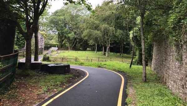 The newly opened section of the Ballincollig Regional Park.