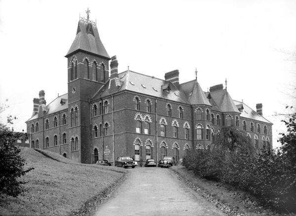 A view of Farranferris Seminary in 1957.
