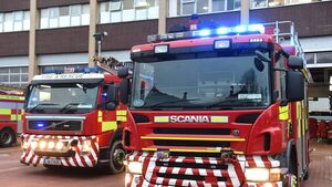 Emergency services tackle Little Island acid spill and fire
