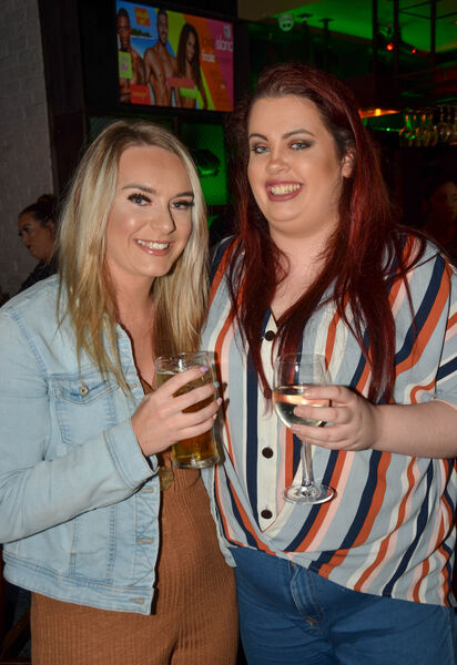 Jordan McKeown, Cobh and Heather O'Keeffe from Killeens