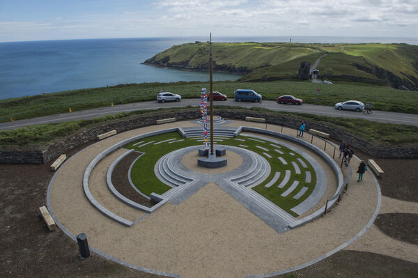 The Old head of Kinsale Signal Tower and memorial garden. Picture Dan Linehan