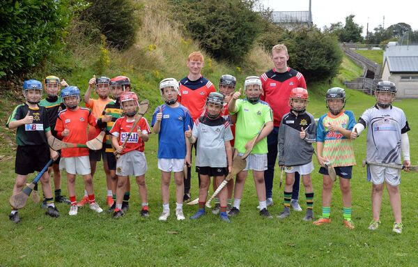 An U10/11 group with Conor and Jack Cahalane.Picture: Denis Minihane.