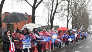 Nurses out of wards to highlight their cause — saying enough is enough