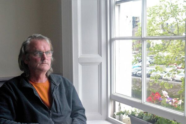 Cork-based land artist Gerry Barry. Picture: Shamim Malekmian