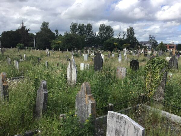 Grass at Douglas cemetery will have to be cut by a strimmer rather than lawnmower, rendering the work laborious.