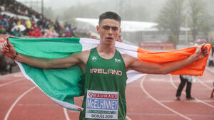 West Cork dynamo Darragh McElhinney is set to become an athletics sensation