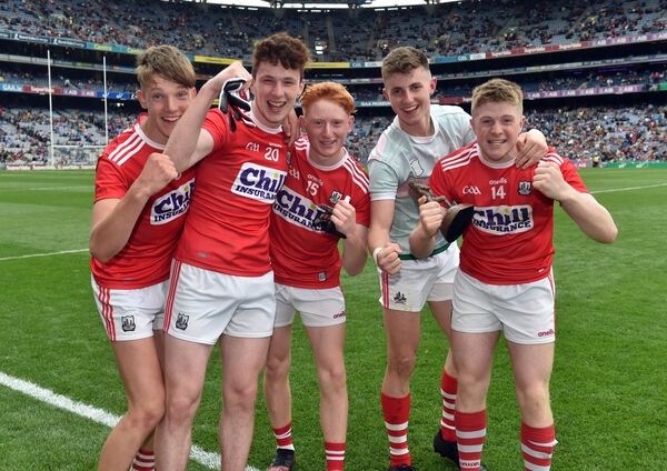 Cork players in top form after. Picture: Eddie O'Hare