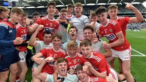 Cork minors blast four goals past Mayo at Croke Park to reach first All-Ireland since 2010