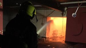 Cork firefighters spend four hours battling Blackpool blaze