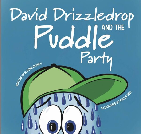 Elayne Lawton's book 'David Drizzledrop and the Puddle Party.""