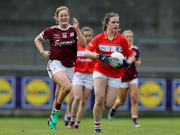 Clare O'Shea on the ball. Picture: INPHO/Bryan Keane