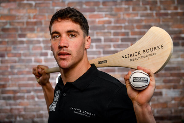 Sean Finn at the Patrick Bourke Menswear 'Kings Of The Game' campaign launch. Picture: Ramsey Cardy/Sportsfile