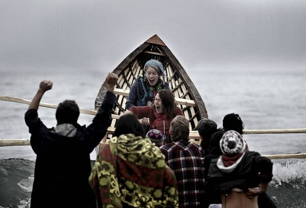 REMEMBERING:The boat waslaunched on Saoirse's birthday.