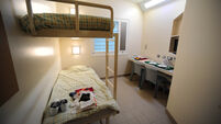 The new Cork Prison is regularly overcrowded with inmates sleeping on the floor